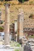 picture of brothel  - Antique columns in a city in the Efes - JPG