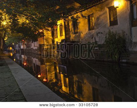 Zhouzhuang at Night