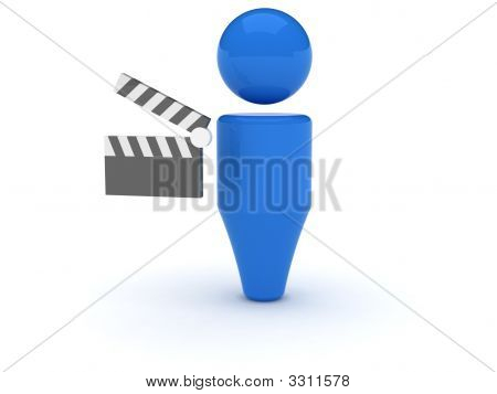 3D Web Icon - Video