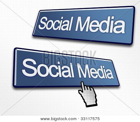 Two Social Media Buttons