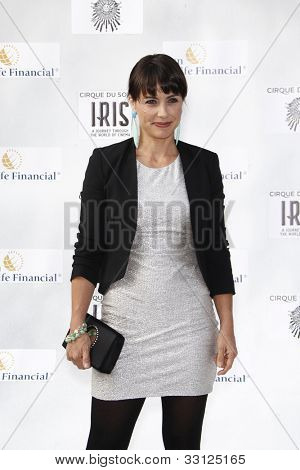 LOS ANGELES - SEPT 25: Constance Zimmer at the IRIS, A Journey Through the World of Cinema by Cirque du Soleil premiere at the Kodak Theater on September 25, 2011  in Los Angeles, California