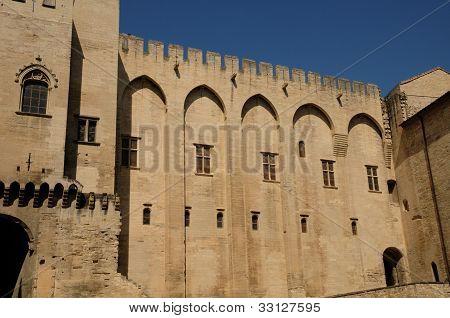 France, Le Palais Des Papes In Avignon