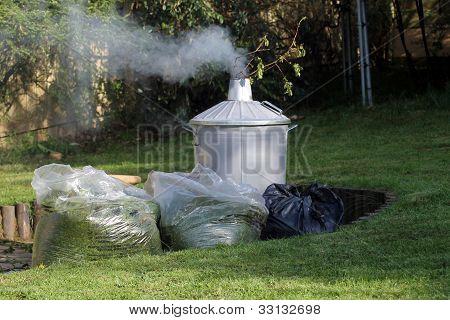 Incinerador de jardín