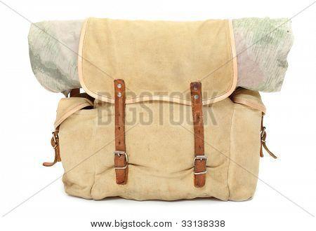 Vintage travel bag.