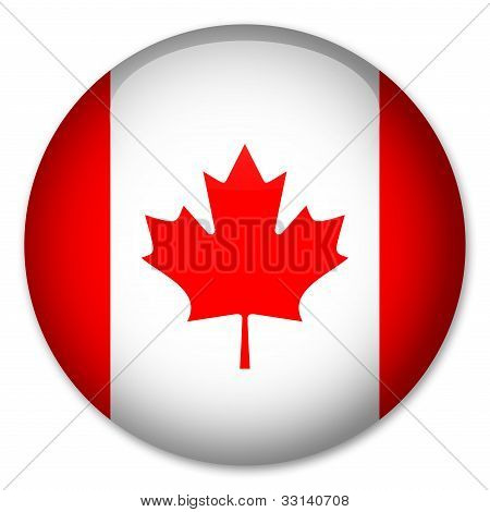 """Canadian"" flag button"
