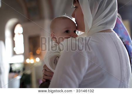 Christening Of Child