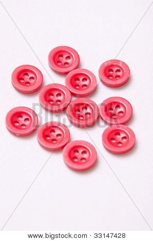Red Small Buttons