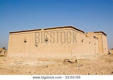 Western elevation, Dendera Temple, Egypt