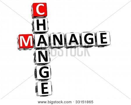 3D Change Manage Crossword