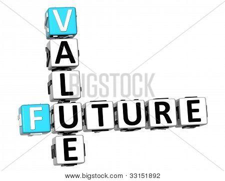 Crucigrama de valor futuro 3D