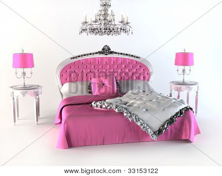Luxury Bed. Bedroom