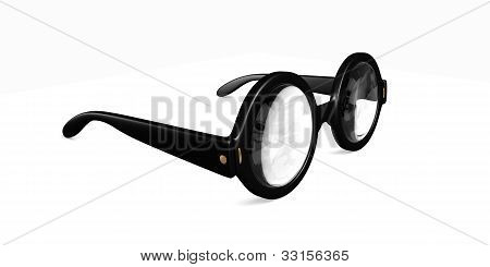 Big Round Glasses
