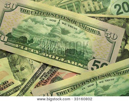 Geld-Hintergrund