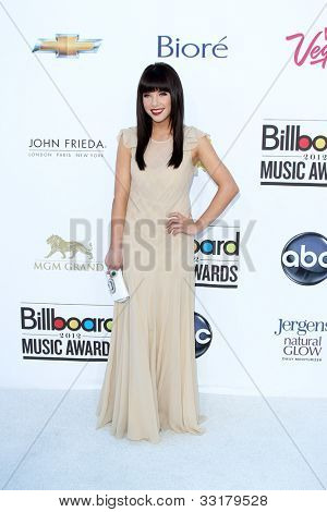 LAS VEGAS - MAY 20:  Carly Rae Jepsen arrives at the 2012 Billboard Awards at MGM Garden Arena on May 20, 2012 in Las Vegas, NV