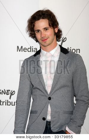 LOS ANGELES - MAY 20:  Connor Paolo arrives at the ABC / Disney International Upfronts at Walt Disney Studios Lot on May 20, 2012 in Burbank, CA