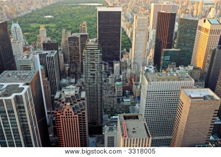 Upper Manhattan und Central park