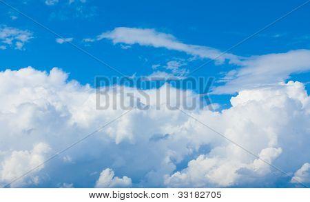 Skies Clouds View