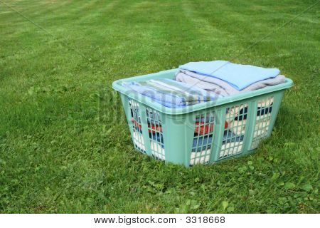 Laundry In Hamper