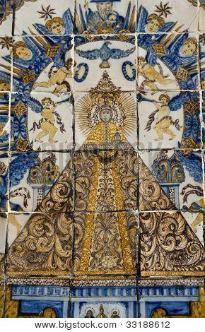 Virgen del Prado, Ceramics of Talavera