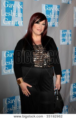 BEVERLY HILLS - MAY 19: Carnie Wilson at the L.A. Gay & Lesbian Center's 'An Evening With Women held at The Beverly Hilton Hotel on May 19, 2012 in Beverly Hills, California