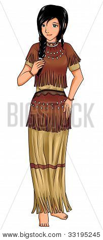 Traditional Native American Costume