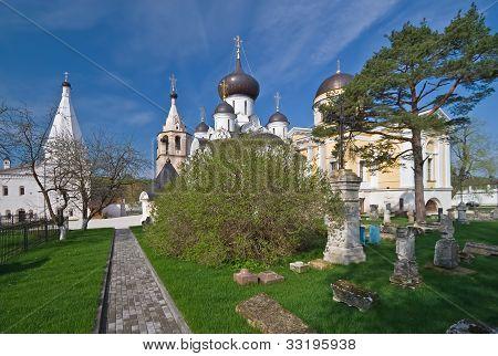 Necropolis of Assumption Orthodox monastery