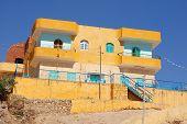 stock photo of nubian  - A Nubian house - JPG