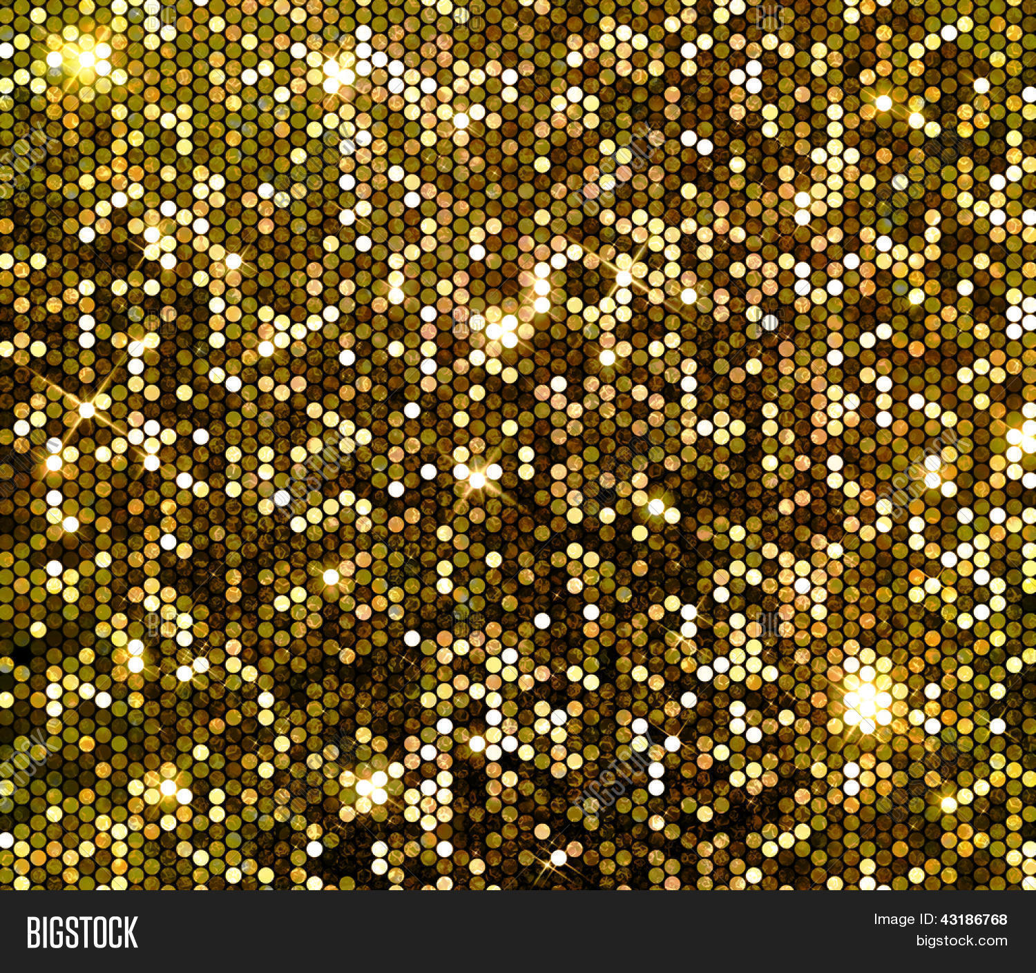 Gold Sparkle Glitter Background. Image & Photo | Bigstock