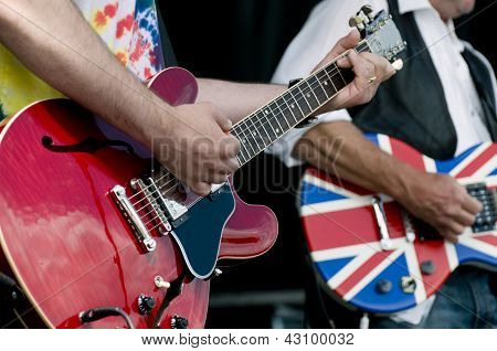 Guitars At Festival