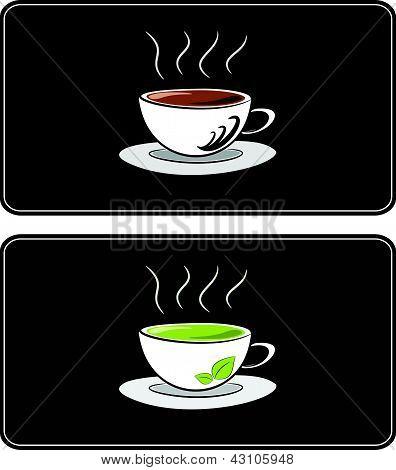 Coffee  And Tea Illustration