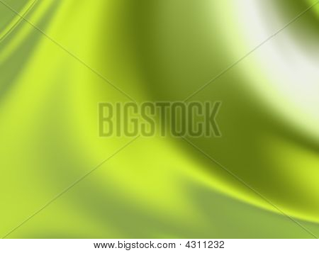 Green And Olive Silk Background