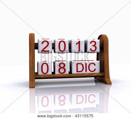 Date - December 8