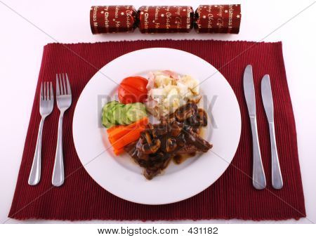 Christmas Steak