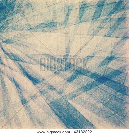 Textura de exposição multi do tira de filme de estilo retro.