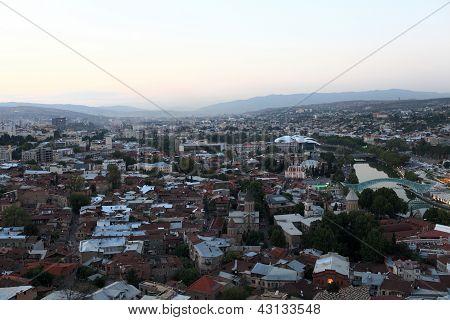 Skyline Of Tbilisi