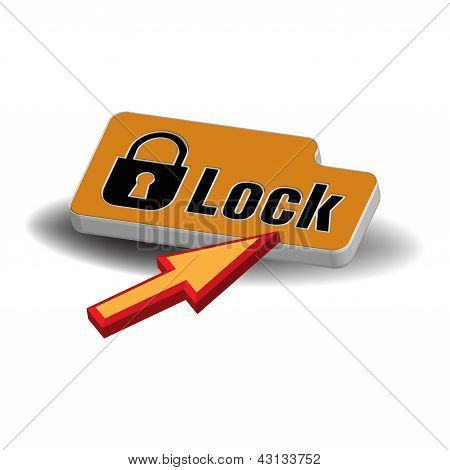 Lock button