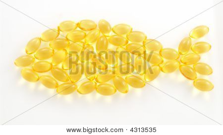 Fish Shaped Tran Capsules