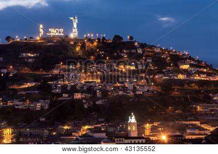 Quito Ecuador Hill