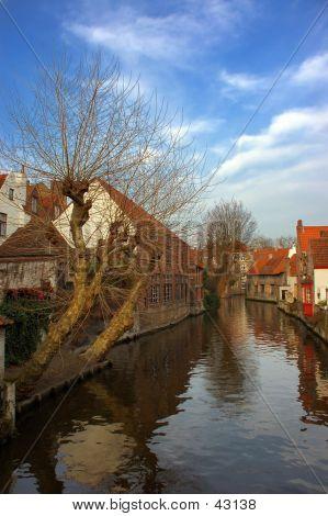 Bruges, Brugge The Canal.