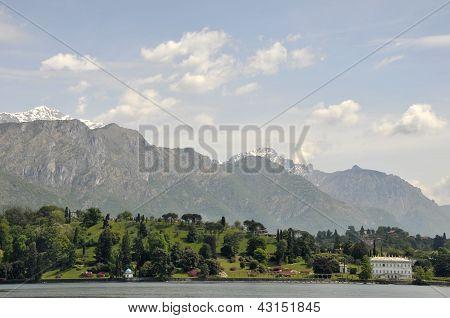 Villa Melzi on Lake Como