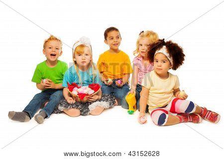 Little's Kids Easter Egg Basket