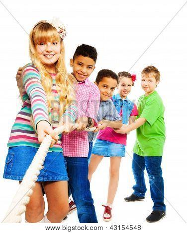 Winning Kids Pull