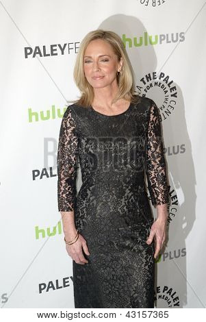 BEVERLY HILLS - MARCH 9: Susanna Thompson arrives at the 2013 Paleyfest