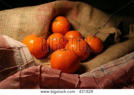 Mandarinas frutas