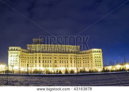 Palace of the Parliament in Bucharest