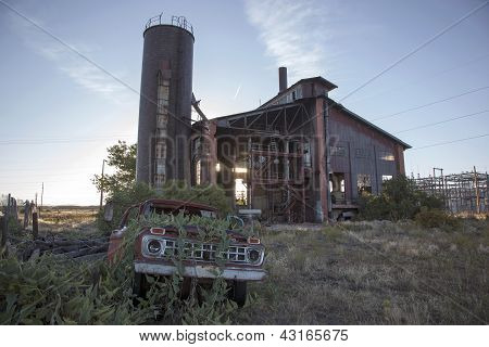 Abandoned Electrical Plant