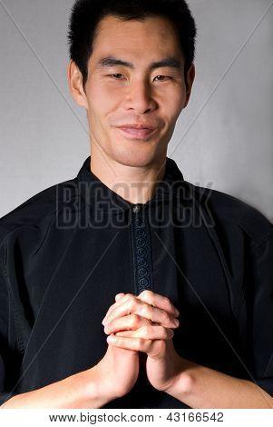 Man Preaching