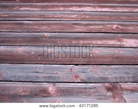 old wheathered wooden wall
