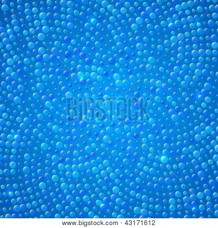 blaue Punkte abstrakt Hintergrund