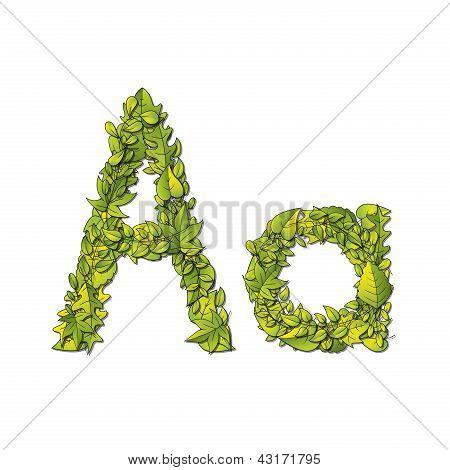 Leaf Font A
